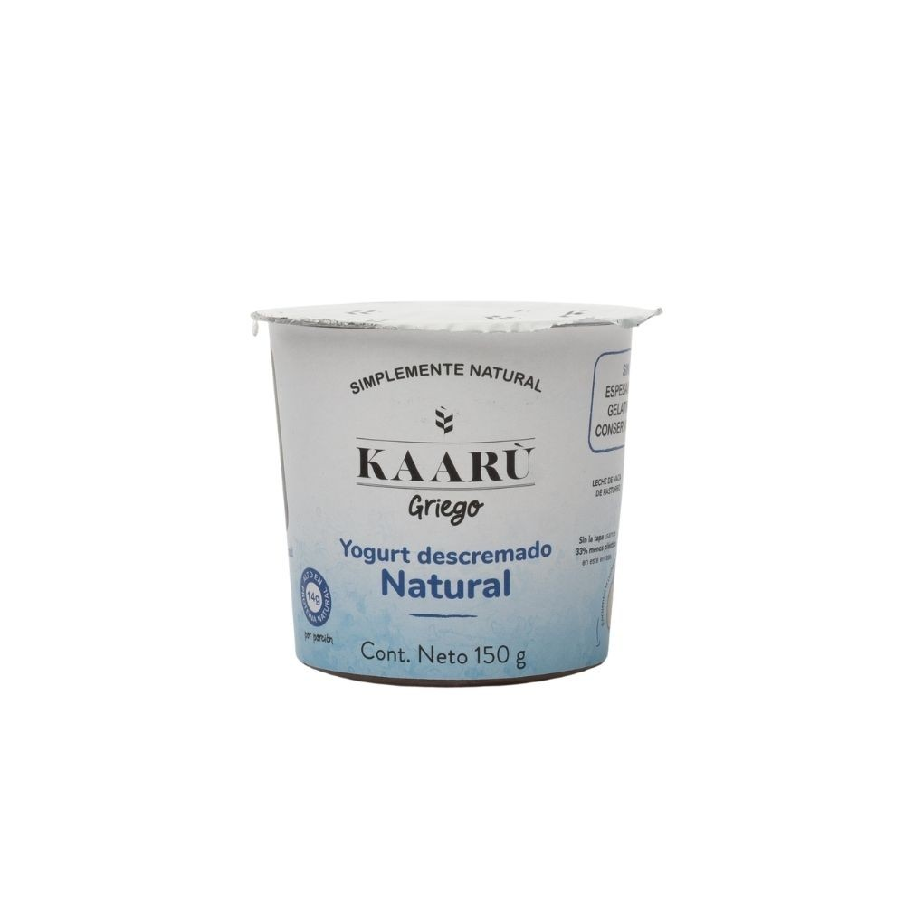 Yogurt Griego - Kaaru -  Natural - 150g