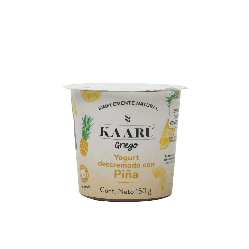 Yogurt Griego - Kaaru -  Piña - 150g